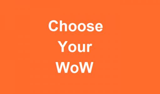 کتاب choose your wow